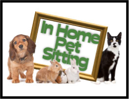 We can come to your home and take care of your pets while you are away.